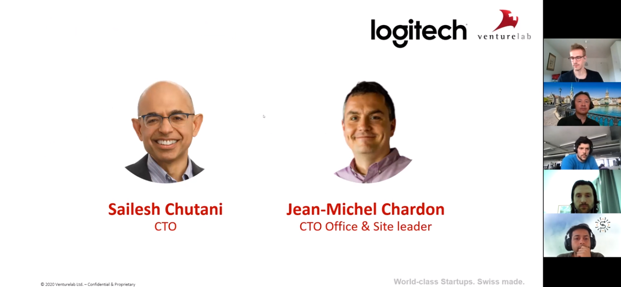 The Logitech Fireside Chat with Swiss Startups ignited a promising exchange of ideas