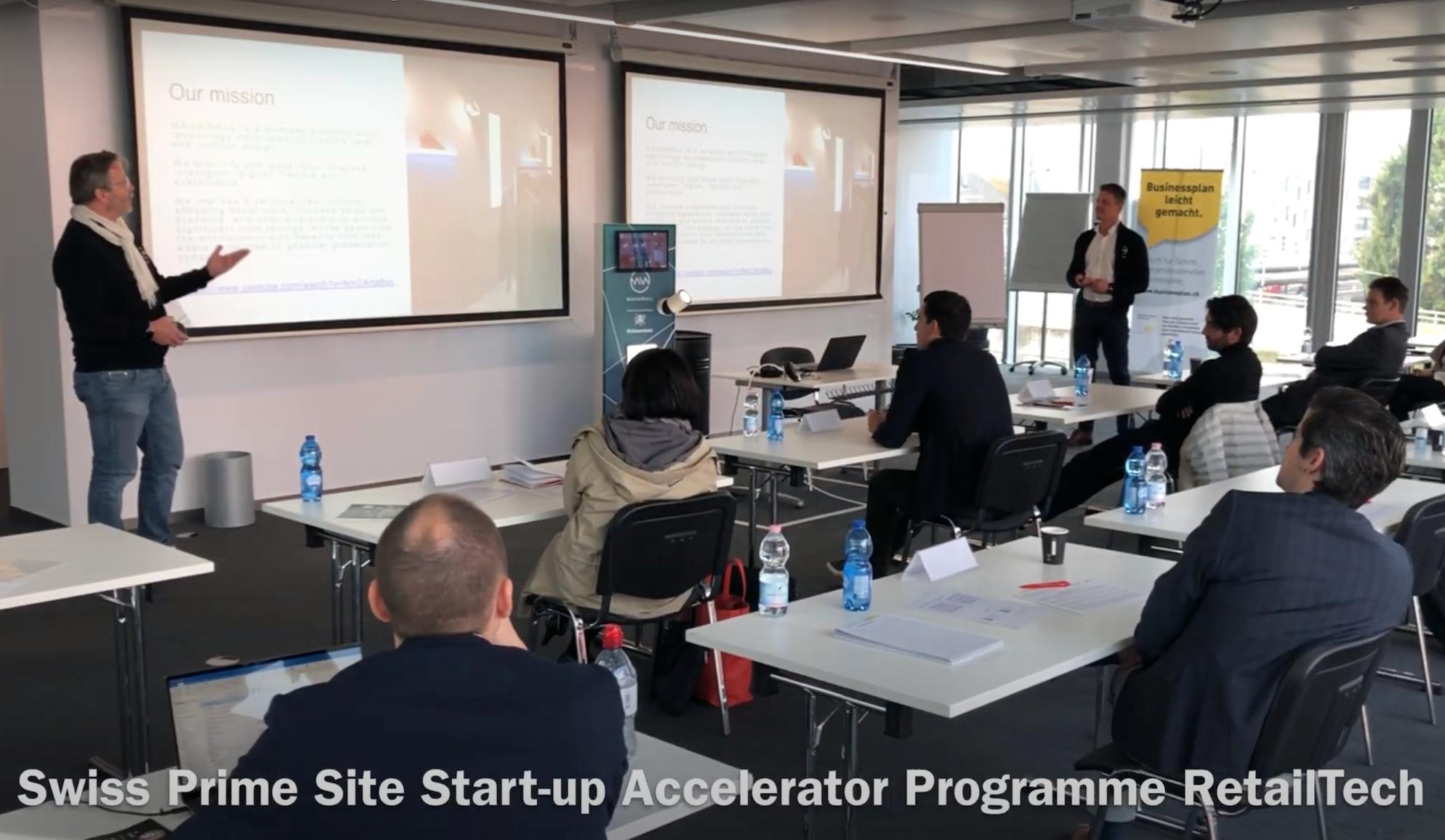 Successful POC development during the Swiss Prime Site Accelerator Programme in RetailTech