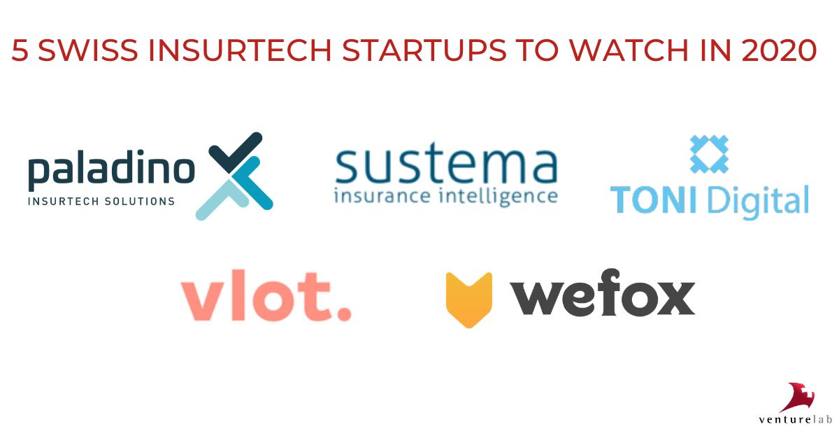 5 Swiss insurtech startups to watch in 2020