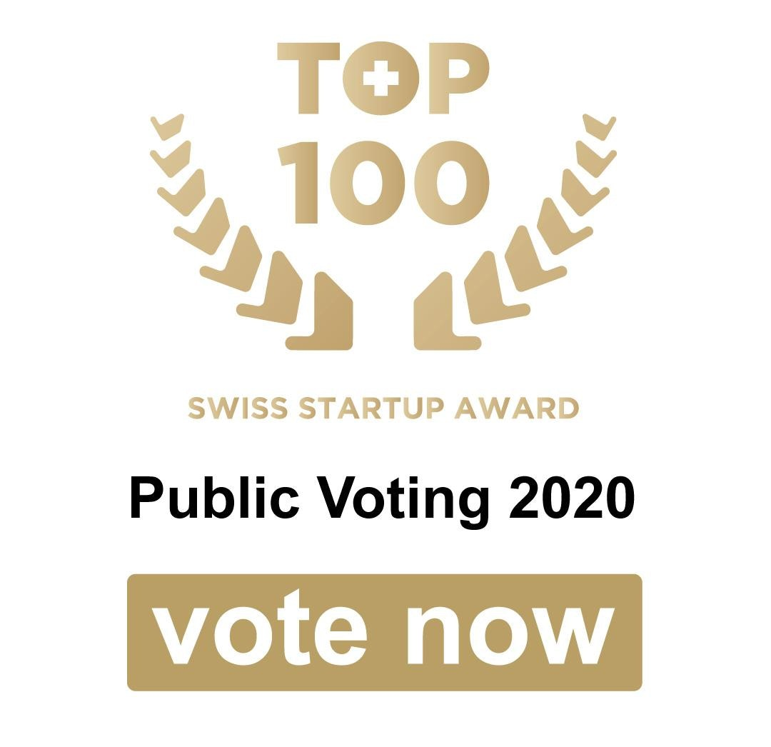 It is time to vote! TOP 100 Swiss Startup Award Public Voting starts now