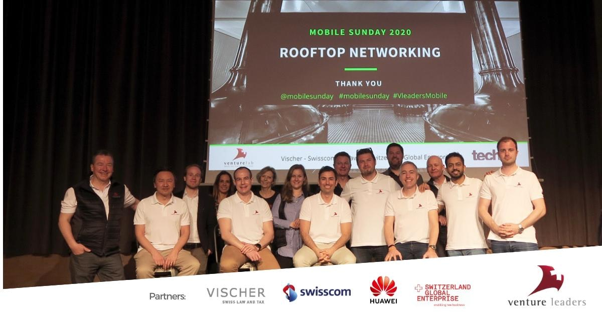 Swiss National Startup Team- Venture Leaders Mobile 2020 Presented on Stage in Barcelona Despite MWC Cancellation